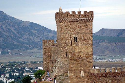 Sudak And Novy Svet, Crimea, Genoese Fortress