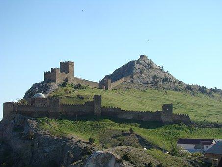 Crimea, Sudak And Novy Svet, Genoese Fortress
