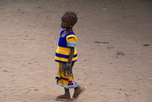 Gambia, Girl, Colorful, Creole, Africa