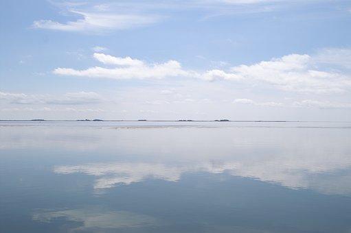 Halligen, North Sea, Nordfriesland, Sea, Holiday
