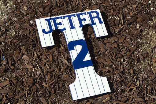 Sports, Hand Painted, Yankees, Jeter, Handmade