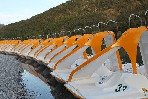 Row, Summer, Holiday, Boat, France, More, Water, Fun