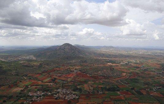 Nandi Hills, Landscape, Deccan Plateau, Karnataka