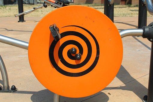 Vortex, Game, Park, Pedals, Wheel, Children, Kids Game