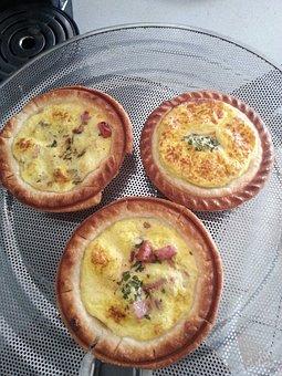 Quiche, French Cuisine, Mini Quiche, Food