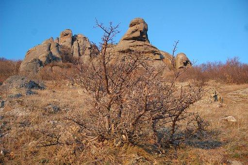 Mountain, Crimea, Mountains, Blue Sky, Sky, Landscape