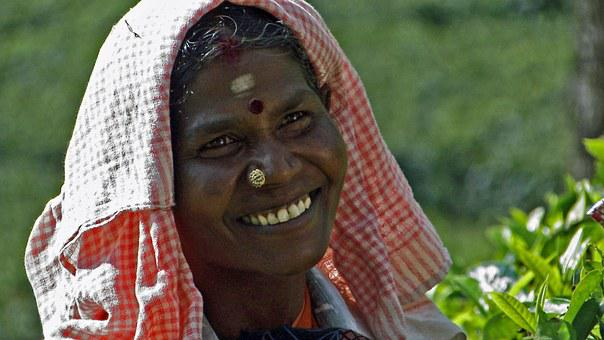 Tea Pluckers, Munnar, South India, Nose Jewelry