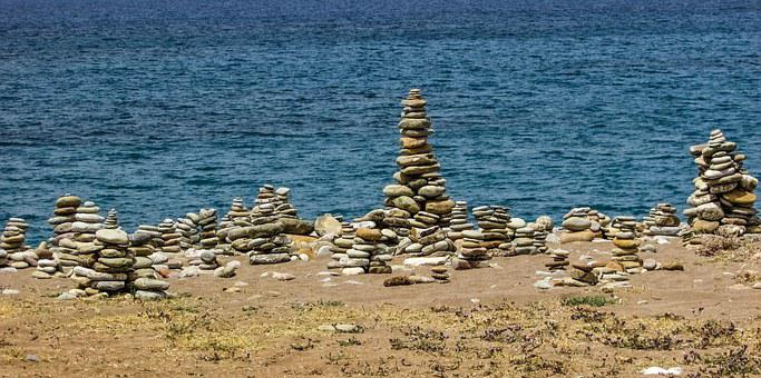Cyprus, Akamas, National Park, Stones, Beach, Nature