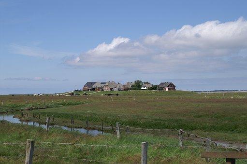 Halligen, Nordfriesland, North Sea