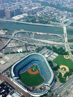 Stadium, New York, Nyc, Usa, Baseball, Sports