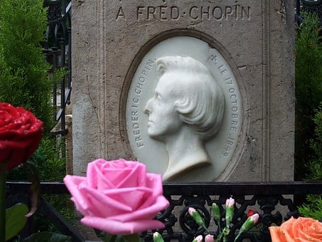 Tombstone, Frederic Chopin, Musician, Paris, Cemetery