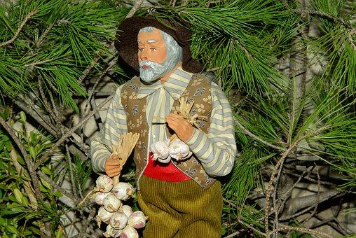 Christmas, Santon, Provence Creche, Clay
