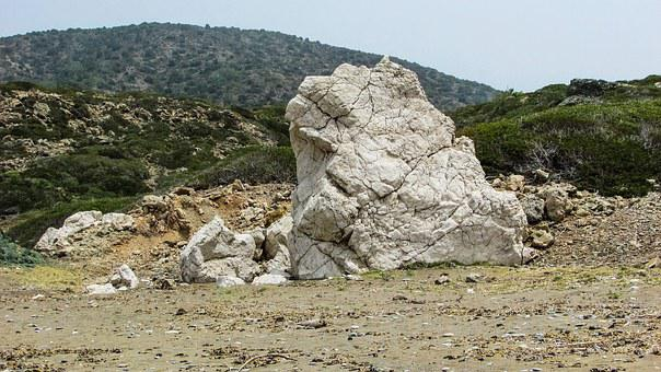 Cyprus, Akamas, National Park, Rock, Geology, White
