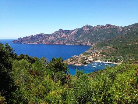 Corsican, Sea, Landscape, Wild, Island