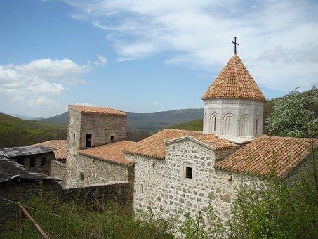 Crimea, Staryi Krym, Monastery, Surb Khach