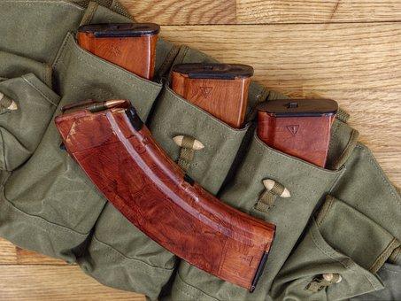 Bakelite, Amunition Magazines, Soviet, Gun, Weapon