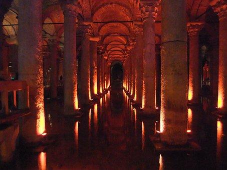 Istanbul, Basilica Cistern, Architecture
