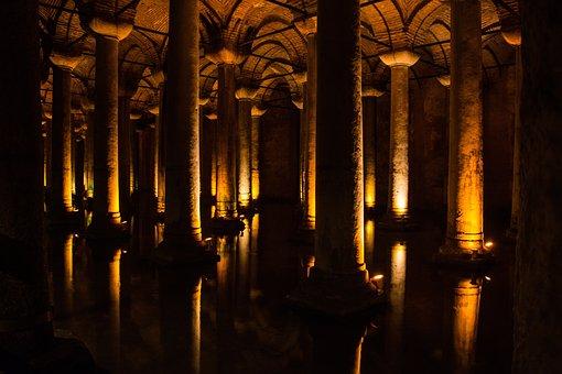 Istanbul, Cistern, Basilica Cistern, Architecture
