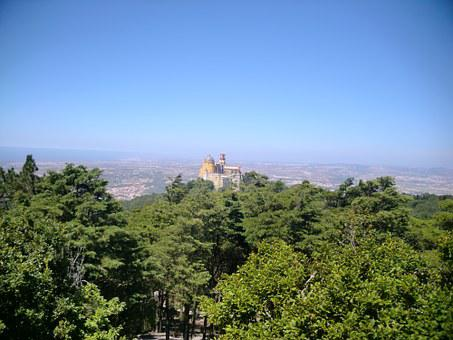 Portugal, Sintra, Castle, Nacional Da Pena Palácio