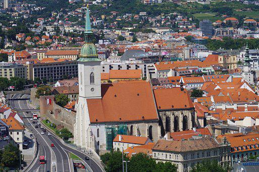 Bratislava, Slovakia, City, St Martin's Cathedral