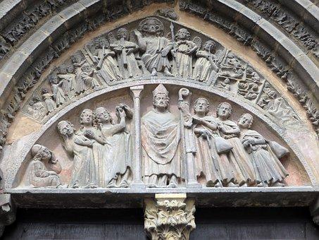 Alsace, Colmar, Church, Saint-martin, Eardrum
