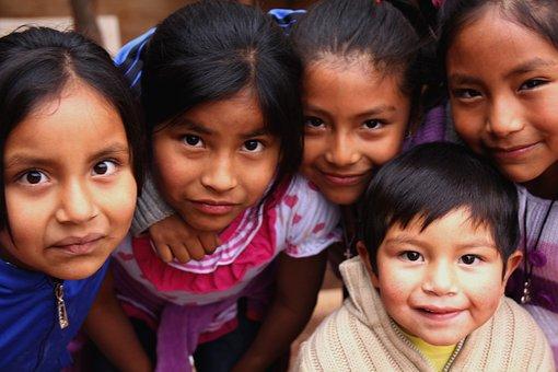 Children, San Pedro De Atacama, Desert, Aymara
