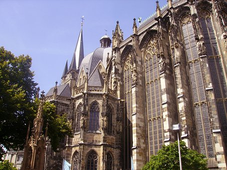 Aachen, Germany, Cathedral, Our Lady, Catholic, Faith