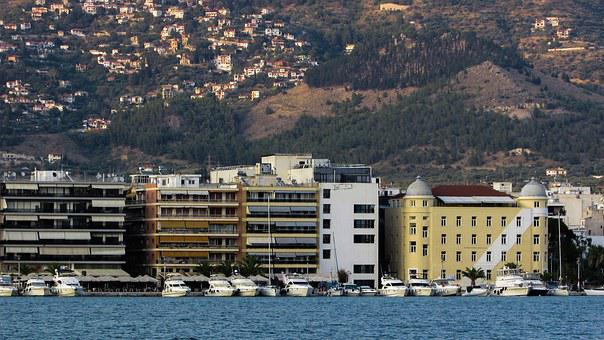 Greece, Volos, Promenade, Travel, Hellas, Europe