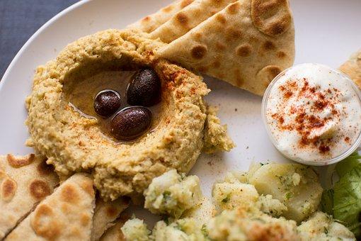 Hummus, Authentic Greek, Greek Food, Mezes
