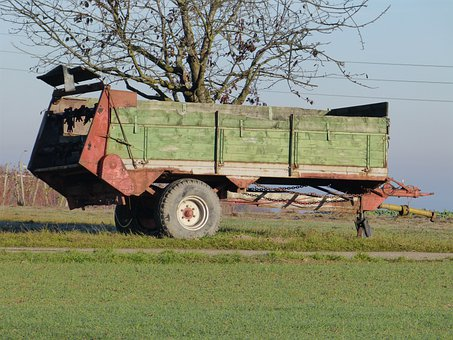 Trailers, Vehicle, Agriculture, Hay, Hay Wagon, Harvest