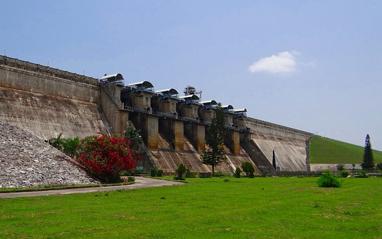 Dam, Hemavathi River, Tourist Attraction, Gorur, Hassan