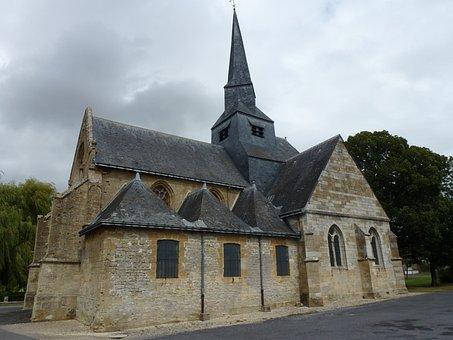 Amagne, Ardennes, Saint Martin, Church, Historic