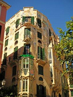 House, Building, Architecture, Majorca, Spain, Tour