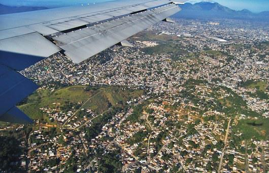 Landing At Rio, Aircraft, Outlook, Wing, Flying, Travel