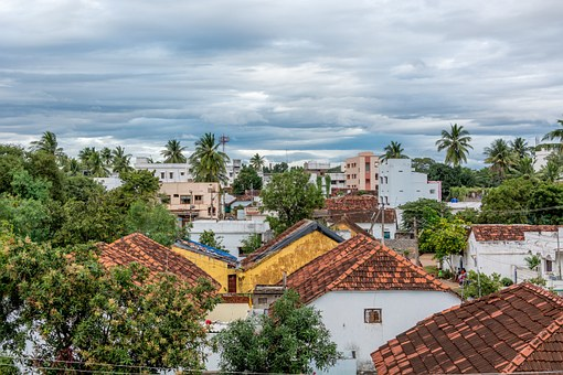 Village, Landscape, Building, Old, View, Travel, Street