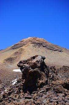 Teide, Summit, Lava Rocks, Lava Rock, Basalt