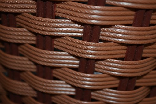 Basket, Pattern, Woven, Texture, Wicker, Material