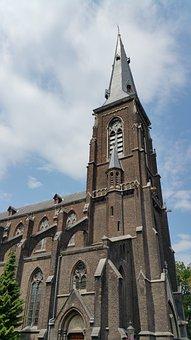 Maastricht, Netherlands, Church, Spire