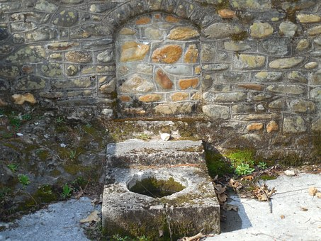 Cistern, Fountain, Outdoors, Old, Exterior, Historic