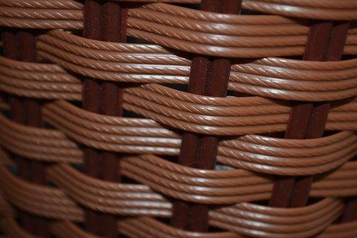 Basket, Pattern, Woven, Texture, Wicker, Material