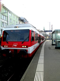 Train, Appenzell Railways, Railway Station