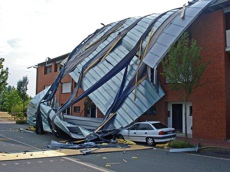 Tornado, Storm, Forward, Winter Storm, Roof