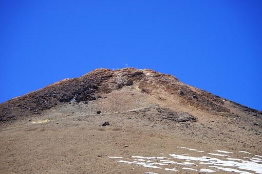 Teide, Pico Del Teide, Summit, Volcano, Smoke, Smoking
