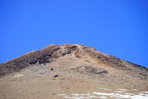 Teide, Pico Del Teide, Summit, Volcano, Volcano Summit