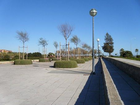 Alley, The Pedestrian Area, Tree, Park, Walkway, Spacer