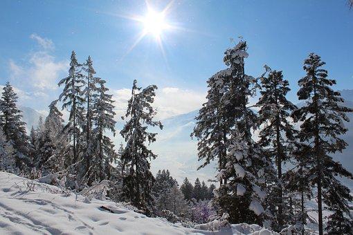 Alps, Winter Sports, Snow, Alpbach, Austria
