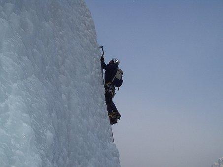 Ice Climbing, Alpinism, Bergsport, Alpine, Climb