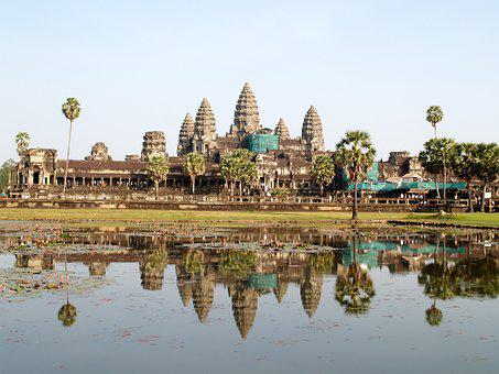 Ancient, Angkor, Antique, Archeology, Architecture