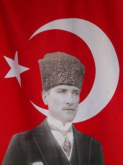 Turkey, Turkish Flag, Flag, Mustafa Kemal, Ataturk