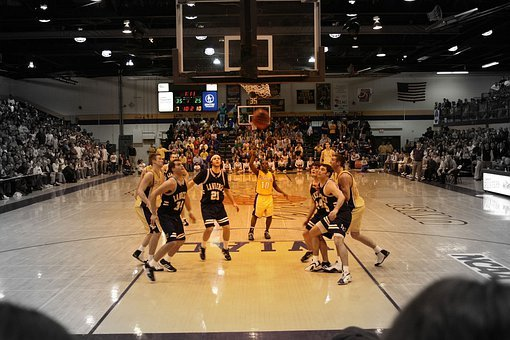 Basketball, Game, Team, Playing, Competition, Sports